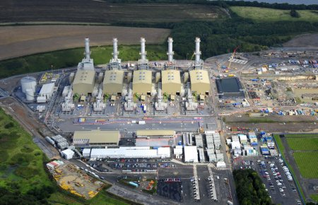 CCGT Power Station - Pembroke - Alstom - 26.08.11