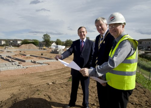 New Care Home Site Visit Stonehaven
